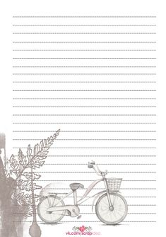 Free Printable Stationery, Printable Planner, School Scrapbook, Scrapbook Paper, Journal Paper, Journal Cards, Planner Writing, Aesthetic Letters, Digital Paper Free
