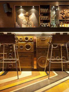 restaurant decor ideas stripes - Google Search