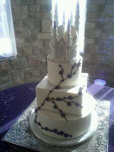 Castle cake topper