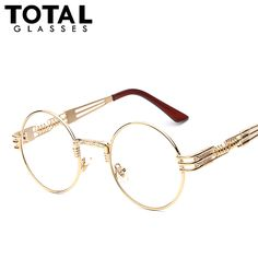 Luxury Metal Sunglasses Men Round Sunglass Steampunk Coating Glasses Vintage Retro Outdoor Lentes Oculos of Male Sun Tag a friend who would love this! #shop #beauty #Woman's fashion #Products #Classes