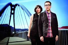 Carrie Brownstein and Fred Armisen on Portlandia
