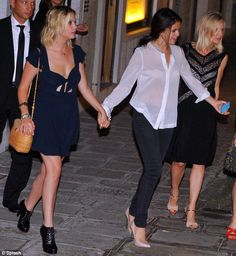 Selena Gomez and Ashley Benson head out to the Venice restaurant, Harry's Dolci. September 5, 2012.