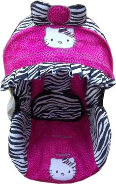 Hello Kitty infant car seat cover most models