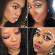 SO inspired by all the Vibe Tribe Inspo pouring in!! So many talented artists will be representing the Northwest for MAC PRO Powell's #MACVibeTribe Industry launch Weekend of MAY 20-22nd! Are you ready!? Gorgeous blushes &highlights to adorn bronzed tan skin Eye liner &shadow palettes so your eyes dance with the music &of course Lipstick shades perfect to throw &go in your satchel! Missing Coachella this weekend? No worries! We're hosting our own festival All beautiful souls good vibes…