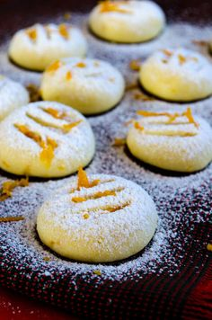 Orange Flour Cookies | giverecipe.com