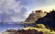 Картина  М.Н.Воробьева. Воронцовский дворец в Одессе