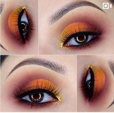 Sunset eyes #morphe