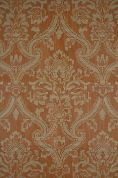 Embossed vintage wallpaper with baroque pattern. High quality retro vintage wallpaper. For sale here in different colors!