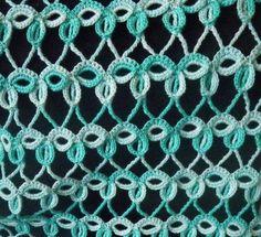 SANDRA PONTOS DE CROCHÊ E TRICÔ...........Beautiful crochet pattern