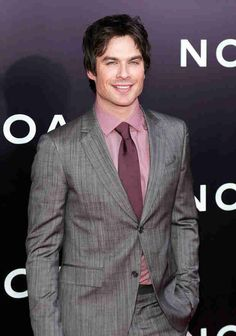 Ian Somerhalder at the Premiere of Noah on March 26, 2014
