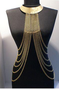 BeyhanAkman tarafından vücut zincir kolye altın vücut zincir kolye altın