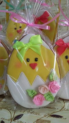 Easter chic cookies