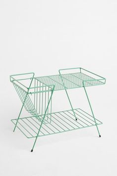 Wire Storage Table   urban outfitters