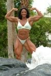 Mimi Jabalee - Biceps, Lats, Abs, Quads, Overall physique, Forearms, Bodybuilder