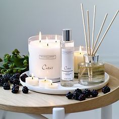 Buy Candles & Fragrance > Our Fragrances > Cassis from The White Company