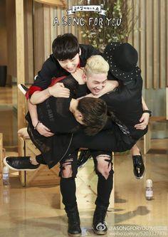 NU'EST Ren, Baekho, JR, Minhyun