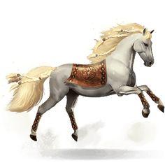 Gullfaxi, Koń z mitycznej kolekcji Gullfaxi #24061889 - Howrse