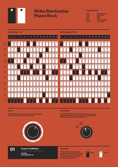 Program Your 808™ Poster Series