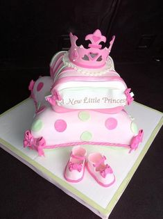 Disney Princess Baby Shower Cake