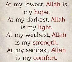 Love you dear Allah. Islamic Love Quotes, Muslim Quotes, Islamic Inspirational Quotes, Religious Quotes, Arabic Quotes, Uplifting Quotes, Imam Ali Quotes, Allah Quotes, Quran Quotes