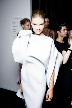 All the backstage looks from Toni Maticevski: Sydney Australian Fashion Shows Spring/Summer 2013/14