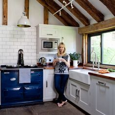 Life with an Aga and why owning one will be a happy long-term affair and one of the best decisions you'll ever make! Gorgeous Kitchens, Dream Kitchen, Aga Cooker, Aga, Aga Stove, Fabulous Kitchens, Finding A House, New Kitchen, Country Kitchen