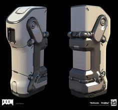 ArtStation - Doom: Prop Exploration, Lear Darocy