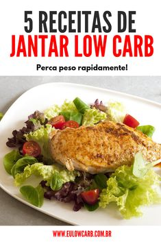 Frutas Low Carb, Janta Low Carb, Light Diet, Ketogenic Diet, Dieta Low, Meat, Chicken, Ethnic Recipes, Bolo Fit
