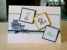 Birthday card for a little boy