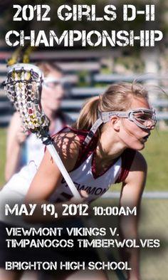 Viewmont Vikings Girls High School Lacrosse D-II Championship Ad