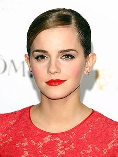 A sleek updo hairstyle for Prom 2012: A chic column dress or curve-hugging frock will be off the charts with slick, shiny, pulled-back tresses. Comb gel through hair to keep every strand in place, then brush back into a tight chignon. Don't forget to pray with plenty of shine spray for mirror-like tresses.