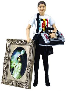 94. Ace (from Silver Nemesis) (with swappable arms and removable jacket (same a previous version), Boombox and portrait accessories)