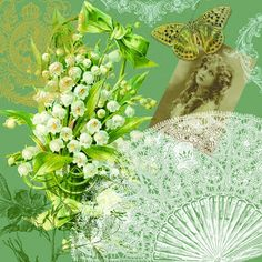 The Artzee Blog: Scrapbooking Spring Splendor with Lily of the Valley This is a free 12 x 12 inch printable for scrapbooking and paper crafting