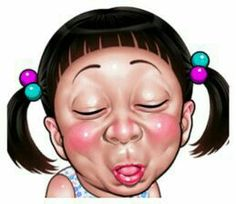Smiling face Collection – LINE stickers Cartoon Smile, Cartoon Jokes, Drawing Cartoon Characters, Cute Characters, Face Stickers, Funny Stickers, Bd Pop Art, Funny Face Drawings, Emoticon Faces