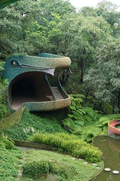 Images Of The Psychedelic Snake House You Can Live In Minimalist Architecture, Organic Architecture, Beautiful Architecture, Interior Architecture, Exterior Design, Interior And Exterior, Architecture Organique, Bubble House, Earthy Home