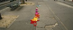 Yarn bombing as an urban intervention