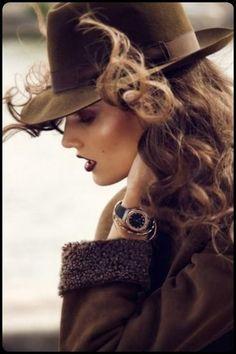 HAT, she is beautiful.