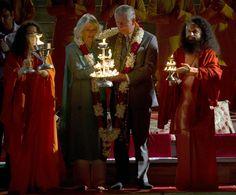 El príncipe Carlos y la Duquesa de Cornualles en la India