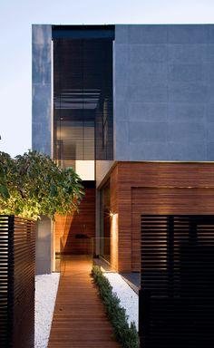 Amazing modern entrance