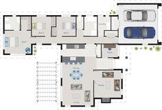 Hemingway floor plan   G.J. Gardner Homes NZ