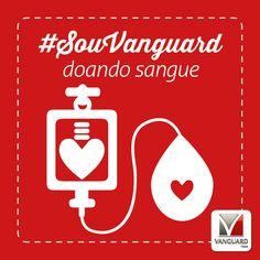 14/06 é Dia Mundial do Doador de Sangue. Um gesto muito simples, que pode salvar vidas. E você, já doou sangue hoje?  #DoeSangue  #DiaMundialDoDoadorDeSangue  #DoeAmor  #SouVanguard
