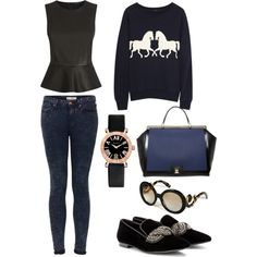 """""""Casual date"""" by gianella-cch on Polyvore"""