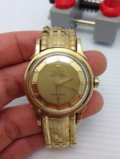 Omega Constellation Gran Luxe 18kt bracelet