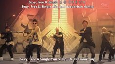 """[MV] Super Junior - Sexy, Free & Single [English subs+Romanisation+Hangul], via YouTube.  WELL, THIS IS WHAT I ACTUALLY CALL """"MOTIVATIONAL"""""""