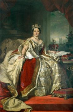 Ten great portraits of Queens | Madame Guillotine.  Queen Victoria, Winterhalter, 1859. Photo: Royal Collection.