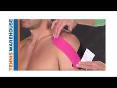 Kinesio Taping for Stabilizing Shoulder - YouTube