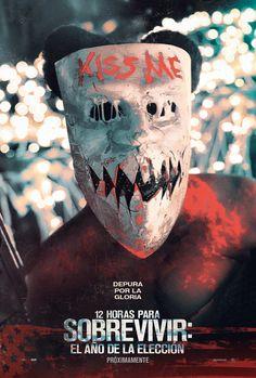The Purge: Election Year - Purge - Blumhouse - movie poster - horror 2016 - Horror Movie Posters, Cinema Posters, Horror Films, All Movies, Scary Movies, Movies To Watch, Movie Tv, Movies Online, Halloween Movies