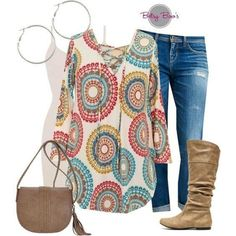 Love the shirt & boots stitch fix outfits, fall outfits, pretty outfits, casual Mode Outfits, Winter Outfits, Summer Outfits, Casual Outfits, Fashion Outfits, Womens Fashion, Mein Style, Looks Plus Size, Stitch Fix Outfits