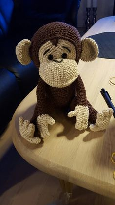 You searched for Free monkey amigurumi pattern Crochet Monkey Pattern, Crochet Animal Patterns, Stuffed Animal Patterns, Crochet Patterns Amigurumi, Amigurumi Doll, Crochet Animals, Crochet Dolls, Free Monkey, Crochet Projects