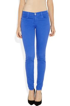 620 Power Stretch mid-rise leggings-style jeans by J Brand